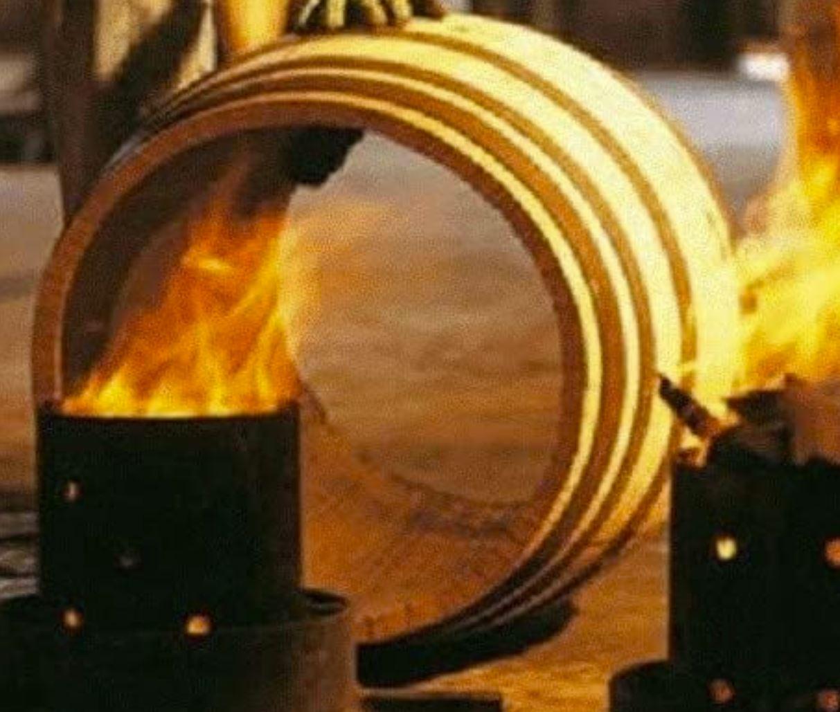 fire roasted barrel